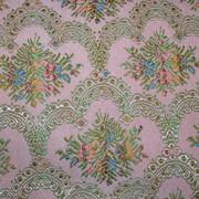 Vintage Floral Brocade Fabric