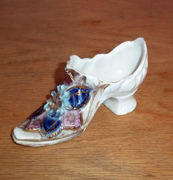 Antique Porcelain Shoe Rosenthal Fine Shoes Advertising Galluba & Hoffman Co.