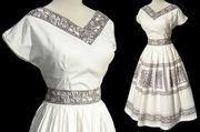 50s Rockabilly Ancient Egyptian Dress Set
