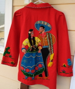 Novelty Mexican Dancers Jacket