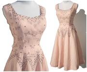 50s Cuban Pink Dress Pre-Embargo