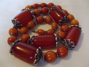 Art Deco Bakelite necklace (d)