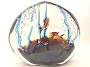 GLASS STUDIO Aquarium Paperweight