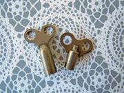 Antique Clock Keys