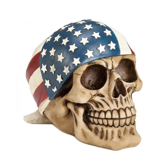 All American Pirate Skull
