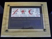 Three-Day Woodstock Music & Art Fair Ticket, 1969