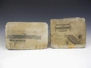 19th Century Lithographer Printing Stones