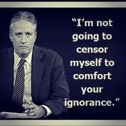 no censor to comfort your ignorance