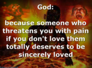 God is a dick