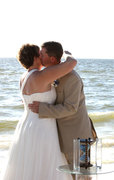 Hourglass Sand Ceremony in Fort Myers, FL Wedding