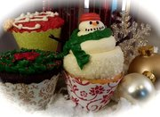 Couture Cupcake Wrappers - Perfect for the Holidays!