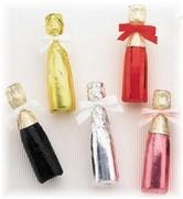 Miniature Chocolate Wine Bottles