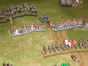 Prussian push the center
