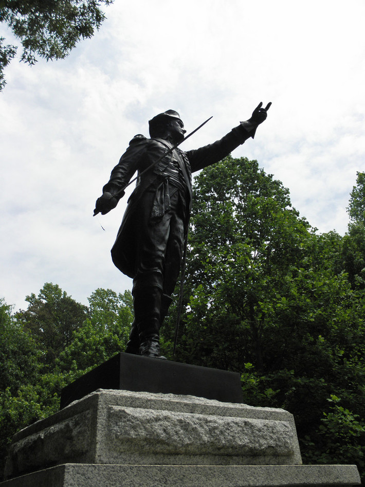 Guilford Courthouse National Military Park - North Carolina Monument 04 05-10-2014