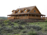 Powers Luxury Log Home by Avalon Log Homes