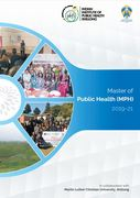 MPH admissions open at IIPH-Shillong (India)