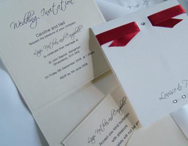 Wedding Invitations- Sophia