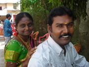 Senthur Velmurugan. V and His Wife