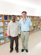 senthur velmurugan.v in the library