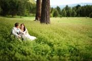 """Green"" Barn Wedding in Leavenworth, WA"