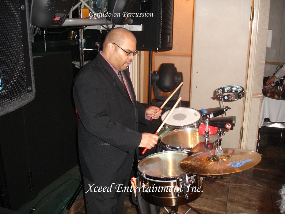 Geraldo Percussionist