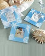 Four Seasons Glass Photo Coasters