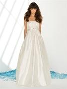 Sandals Beach Wedding Dress 1022