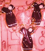 party dress cookies