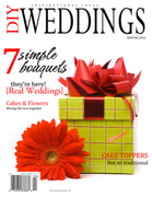 DIY Weddings Magazine Winter Issue 2010