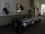 Balloons for Main Table at Wedding Reception
