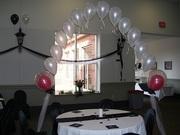Single Balloon Arch for Cake Table