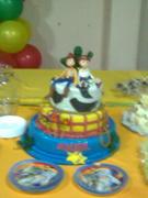 modelo de torta de toys story