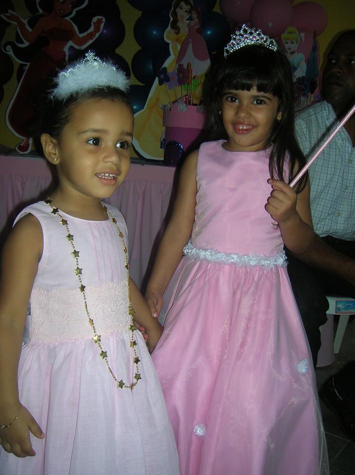 Princesa Nicole y Princesa Nathalia