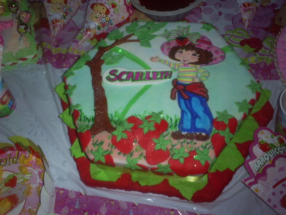 torta de fresita
