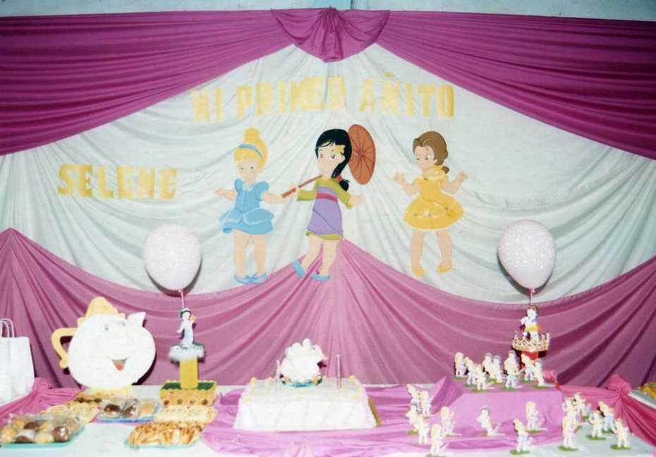Mesa de Torta de Princesa