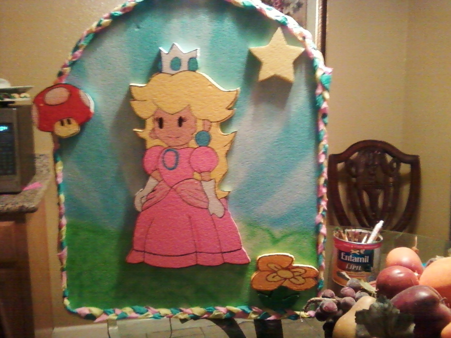 PINATA PRINCESS PEACH MARIO BROS