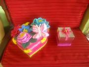 cajitas de regalo de mariposa
