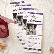 Concert Ticket Invite