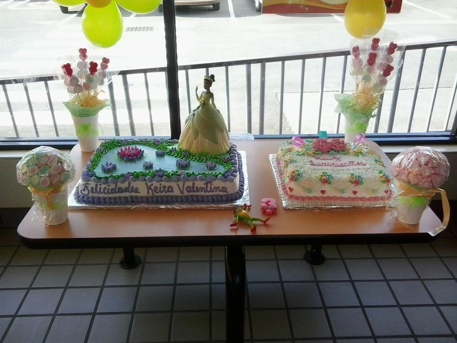 como decorar la mesa de tu pastel