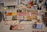 Vendor Table at Hilltop Wedding Showcase, 4/17