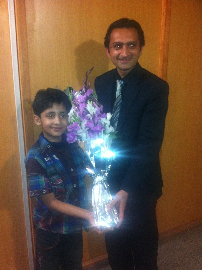 Subhan Ali Syedain- World Record Holder