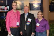 Arik Johnson Tim Kindler and Craig Fleisher at SCIP2011 in Orlando