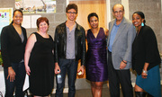 Anthony Ervin & Advisory Board Members of Urban Swim Program 4-2012