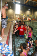 Camden, NJ students at Water Safety Clinic (MA Diversity Committee)