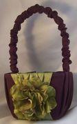 Silk Hydrangea Flower Girl Basket