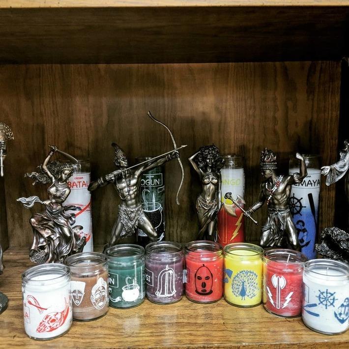 Orisha 50 hour candles