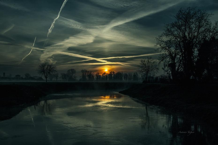 alba d'inverno