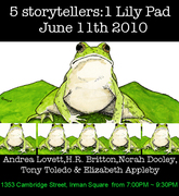 5 Storytellers One Lily Pad