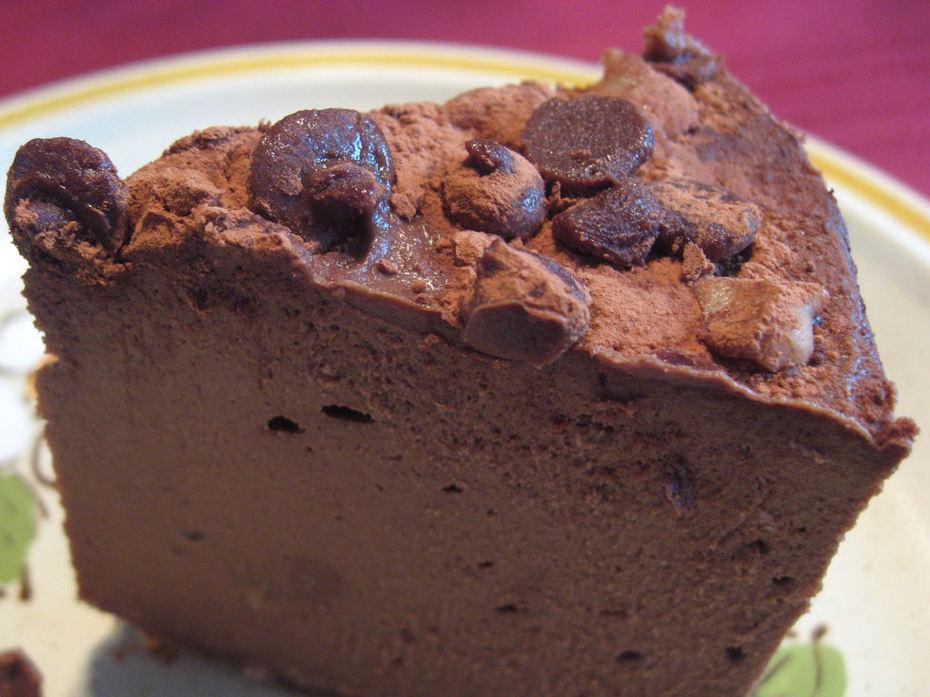 cake - chocolate silk mousse cakeflip