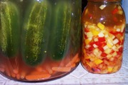 fermented pickles and chutney